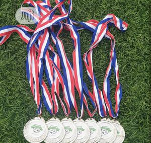 Silver Award Medal With Printing | Arts & Crafts for sale in Lagos State, Eko Atlantic
