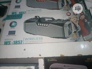 Wstern Ws-1857 Bluetooth Speaker   Audio & Music Equipment for sale in Lagos State, Ikorodu
