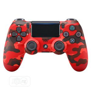 Playstation 4 Controller Red Urban | Video Game Consoles for sale in Lagos State, Ikeja