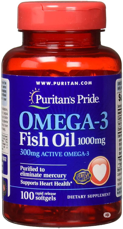 Archive: Puritan Omega-3 Fish Oil 1000mg X100