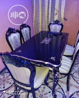 Classic Royal Wooden Dinning Table With Six Chairs | Furniture for sale in Lagos State, Ajah