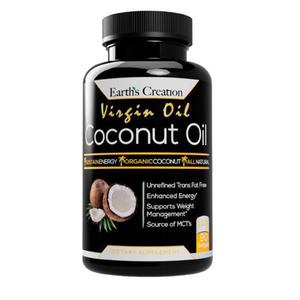 Virgin Coconut Oil by Earth's Creation | Vitamins & Supplements for sale in Lagos State, Surulere