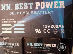 12V 200ahs Nn Best Power Solar Battery | Solar Energy for sale in Lagos State, Ojo