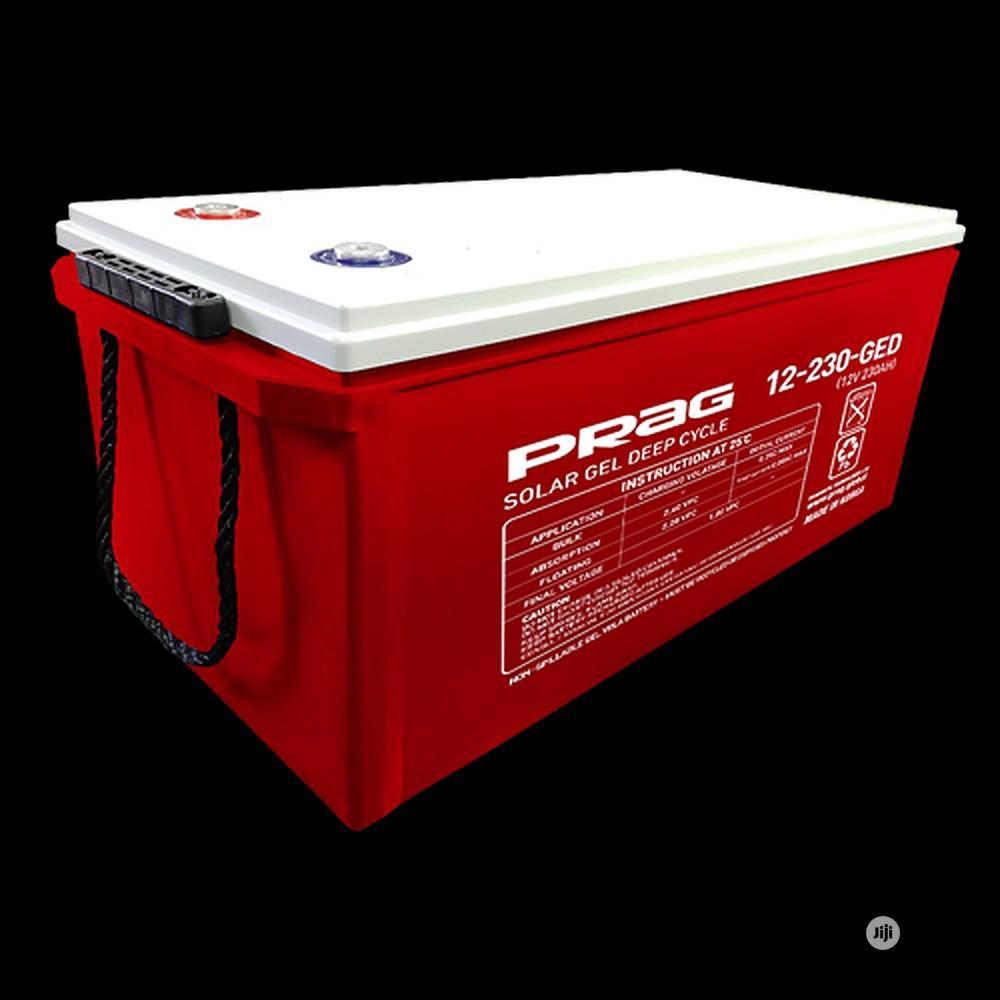 Prag 12V 230ah Premium GEL Battery