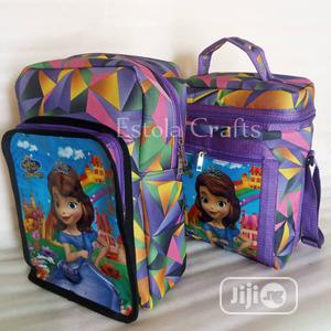 Girl School Bag Lunch Box Sophia Cartoon Character | Babies & Kids Accessories for sale in Lagos State, Ikeja