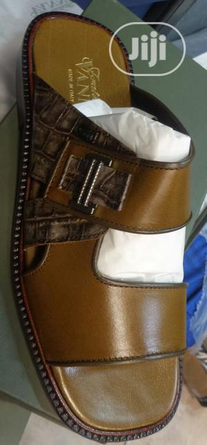 Real Quality Italian Leather Slippers for Men   Shoes for sale in Lagos State, Surulere