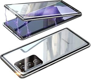 Galaxy Note 20 Ultra Double Tempered Glass Magnetic Case | Accessories for Mobile Phones & Tablets for sale in Lagos State, Ikeja
