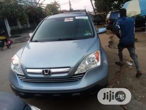 Honda CR-V 2008 2.4 EX-L 4x4 Automatic Blue | Cars for sale in Lagos State, Surulere
