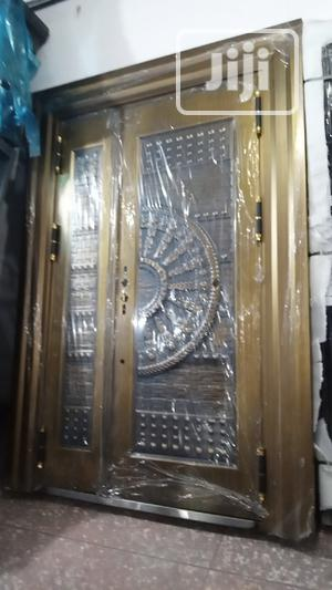 4ft by 7ft Copper Security Door Outside Opening | Doors for sale in Lagos State, Orile
