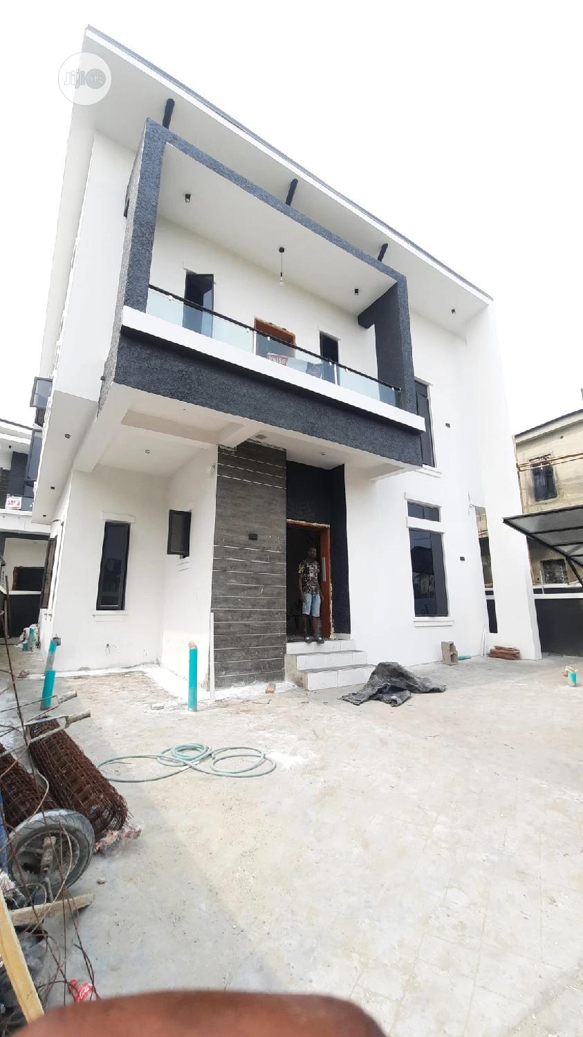 Newly Built 4 Bedroom Fully-Detached Duplex for Sale With BQ
