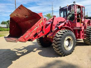 New Arrival 950C Loader Caterpillar Good Tyres Superb Engine 1999 Red For Sale | Heavy Equipment for sale in Lagos State, Apapa