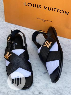 High Quality Louis Vuitton Sandals for Men   Shoes for sale in Lagos State, Magodo