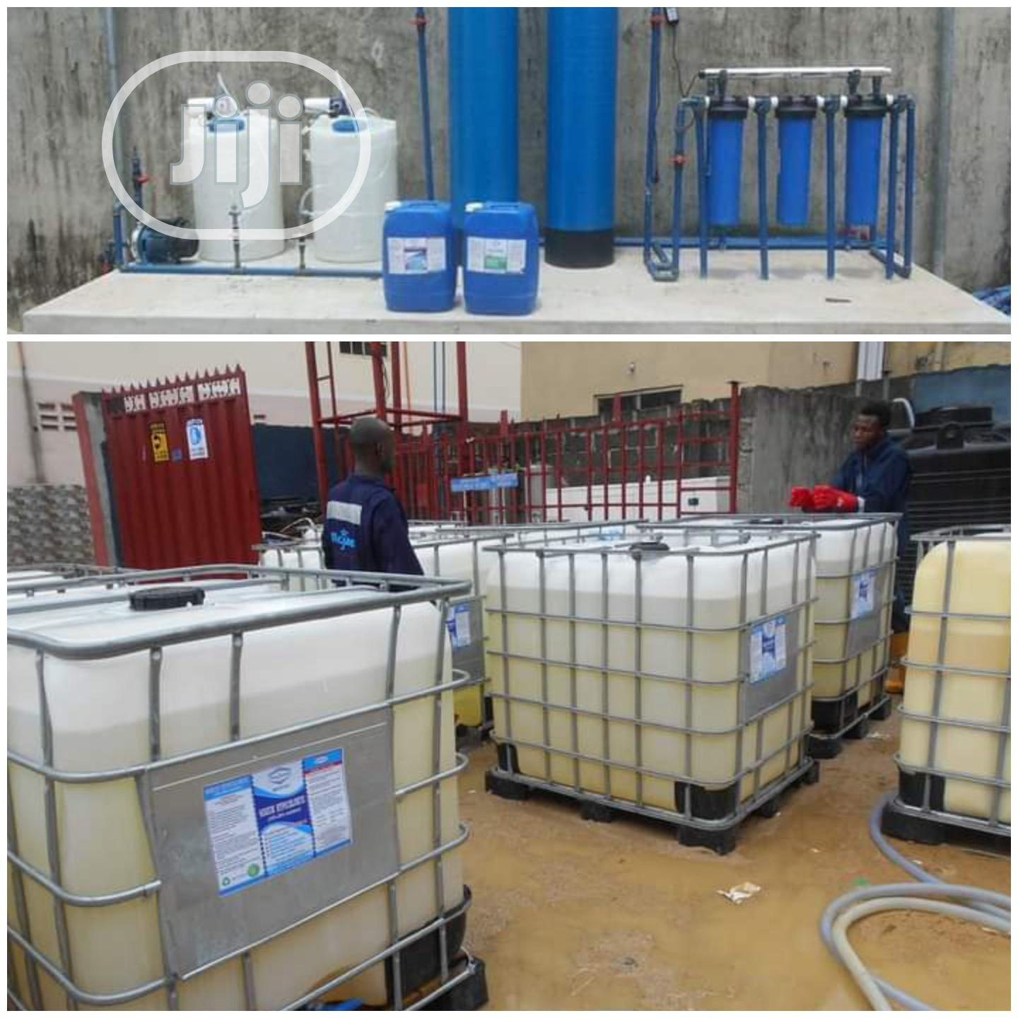 Water Treatment Plant and Chemicals