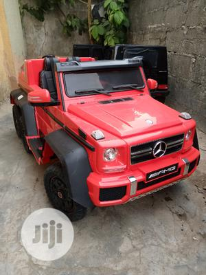 Quality Uk Used Licensed Mercedes Benz G63 6x6 Kids Jeep.   Toys for sale in Lagos State, Surulere