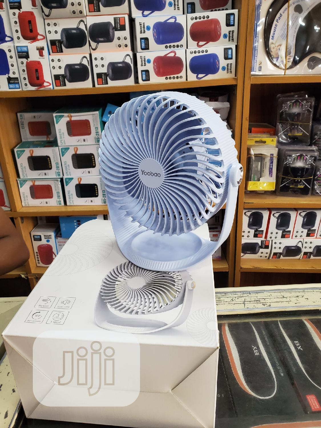 Generic Portable Rechargeable Cooling Fan | Home Appliances for sale in Ikeja, Lagos State, Nigeria