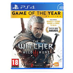 Ps4 Cd Witcher 3 Game of the Year   Video Games for sale in Lagos State, Ikeja