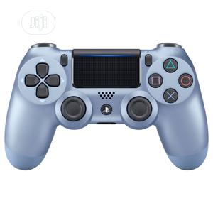 Ps4 Dual Shock Controller Titanium Blue   Video Game Consoles for sale in Lagos State, Ikeja