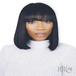 Wig Hair Fringe Short Wig Cap   Hair Beauty for sale in Plateau State, Jos