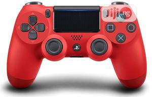 Ps4 Dual Shock Wireles Controler Red | Video Game Consoles for sale in Lagos State, Ikeja