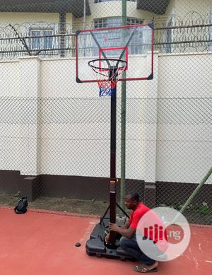 American Fitness Fibre Basketball Stand | Sports Equipment for sale in Lagos State, Surulere