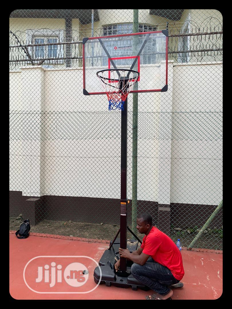 Archive: Quality Basket Ball Stand