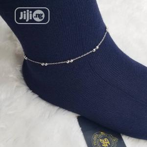 Silver Non Tarnishing Anklet Leg Chain   Jewelry for sale in Lagos State, Ajah