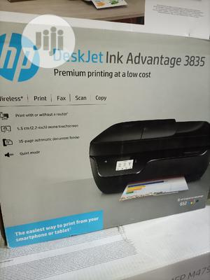 Desk Jet Ink Advantage 3835 All in One Printer,Wireless   Printers & Scanners for sale in Lagos State, Ikeja
