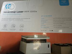 Hp Never Stop Laser,Mpf 1200A B/W Printer   Printers & Scanners for sale in Lagos State, Ikeja