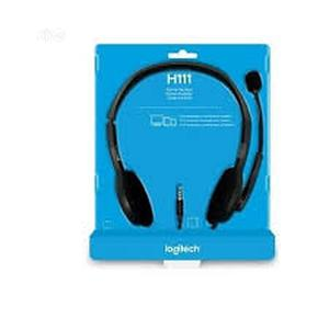 Logitech H111 Stereo Headset | Headphones for sale in Lagos State, Victoria Island