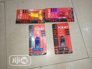 Original Fox 40/80 Whistles   Sports Equipment for sale in Lagos State, Surulere