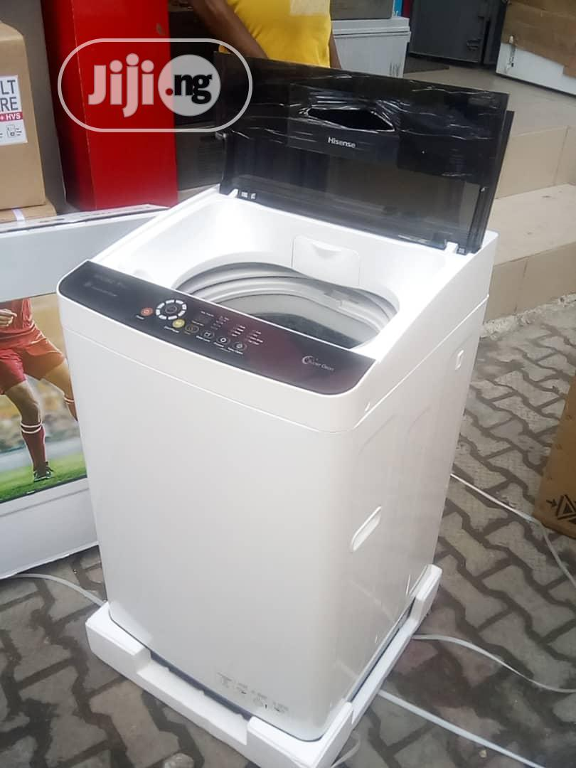 Hisense 8kg Automatic Washing Machine | Home Appliances for sale in Lekki, Lagos State, Nigeria
