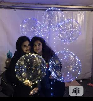 LED Valentine Party Birthday Light Transparent Balloon   Home Accessories for sale in Lagos State, Lekki