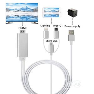 Mira Screen Lightning to HDTV Cable | Accessories & Supplies for Electronics for sale in Lagos State, Ikeja
