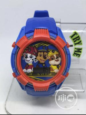Paw Patrol Kids Paw4005 Blue Rrd Digital Wristwatch | Babies & Kids Accessories for sale in Abuja (FCT) State, Wuse 2