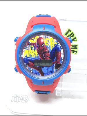 Spider Man Smf4000 Kids Blue Red Digital Wristwatch | Babies & Kids Accessories for sale in Abuja (FCT) State, Wuse 2