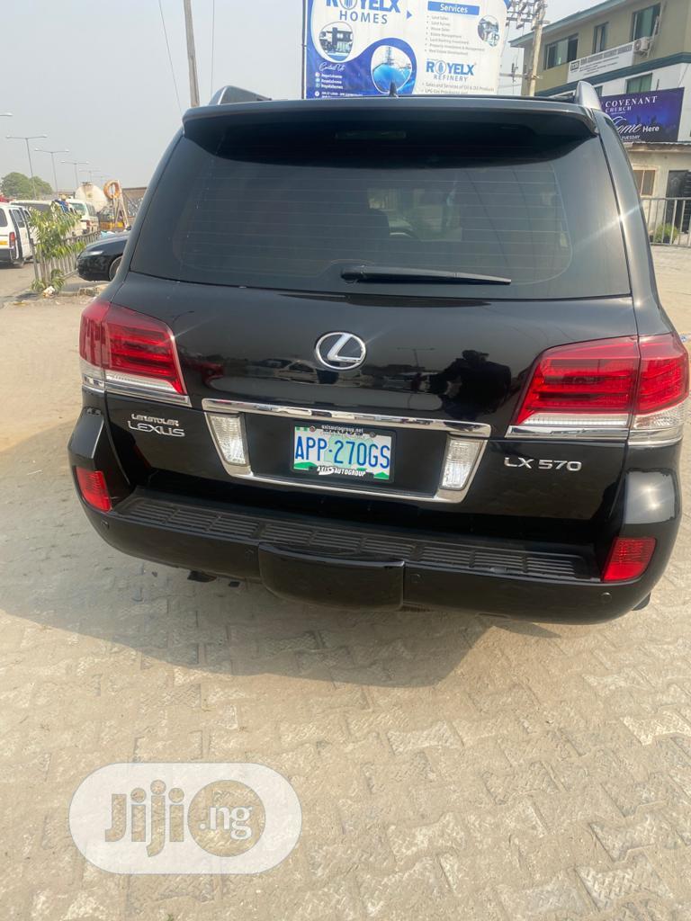 Lexus LX 2009 570 Black | Cars for sale in Lekki, Lagos State, Nigeria