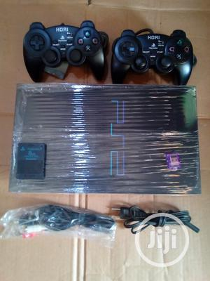 Sony Playstation 2 + 2 Controllers + 10 Games   Video Game Consoles for sale in Lagos State, Ikeja