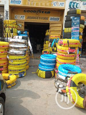 Tyres of All Brands Michelin, Bridgestone, Dunlop, Maxxis   Vehicle Parts & Accessories for sale in Lagos State, Ikeja