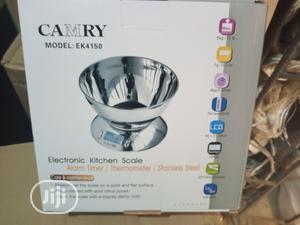 5kg Camry Stainless Digital Kitchen Scale | Kitchen Appliances for sale in Lagos State, Lagos Island (Eko)
