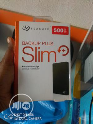 500gb Seagate External Hard Drive Backup Plus | Computer Hardware for sale in Lagos State, Ikeja