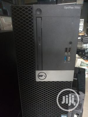 Desktop Computer Dell OptiPlex 7050 8GB Intel Core I7 HDD 1T   Laptops & Computers for sale in Lagos State, Ikeja