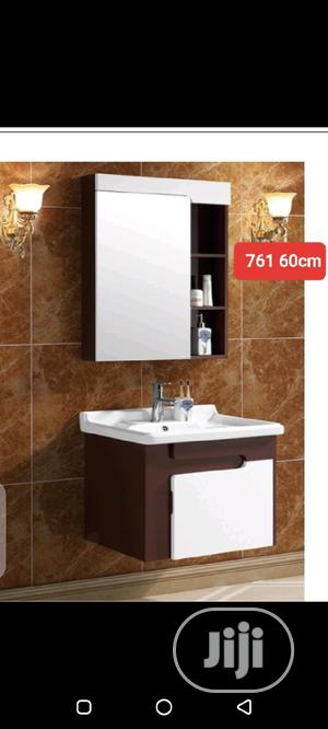 Quality Wall Hung Cabinet With Mirror | Furniture for sale in Abuja (FCT) State, Dei-Dei