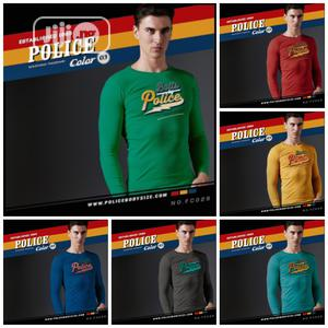 Police FC029 Medium Size Long Sleeve T Shirt | Clothing for sale in Lagos State, Surulere
