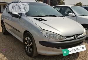 Peugeot 206 2004 Silver   Cars for sale in Abuja (FCT) State, Gwagwalada