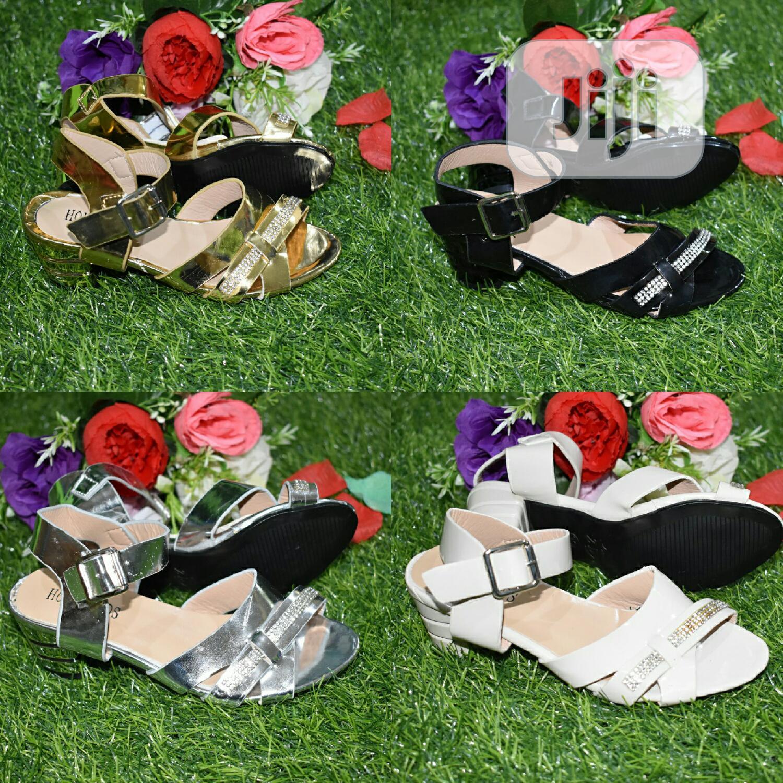 Girls Low Heel Dress Shoe (Carton of 24 Pairs)