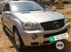 Mercedes-Benz M Class 2007 Silver | Cars for sale in Jigawa State, Garki