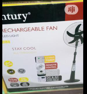 Century Rechargeable 16 Inch Fan | Home Appliances for sale in Lagos State, Lagos Island (Eko)
