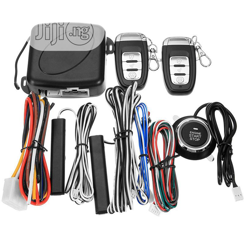 Universal Push Start/Stop and Remote Keyless Entry System