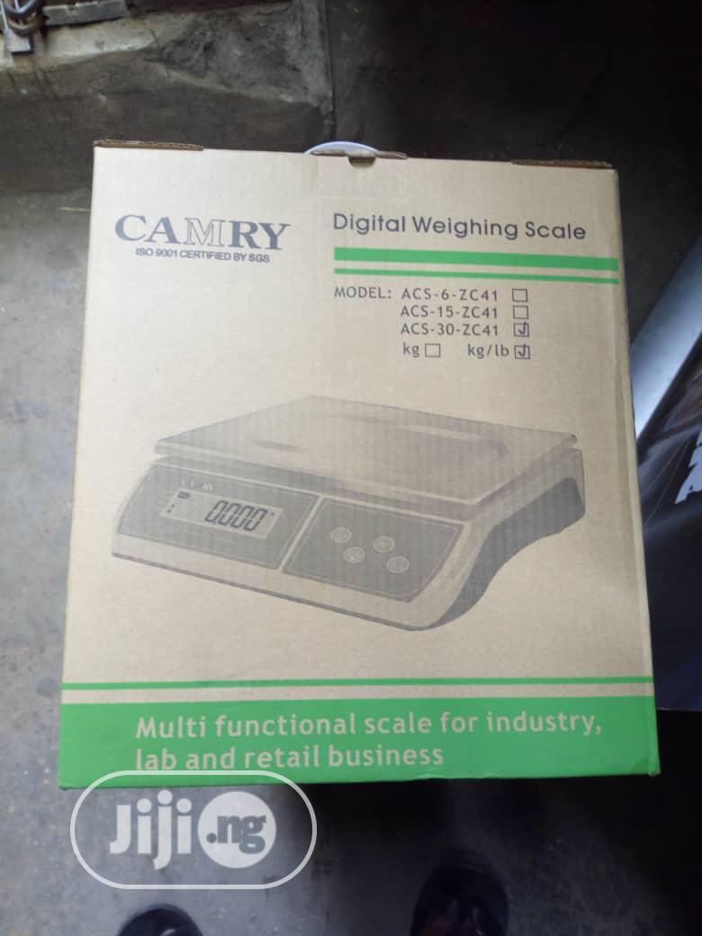 30kg Camry Digital Weighing Scale