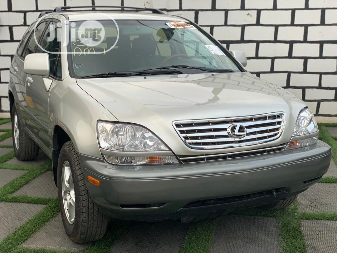 Lexus RX 2003 Silver | Cars for sale in Ikeja, Lagos State, Nigeria